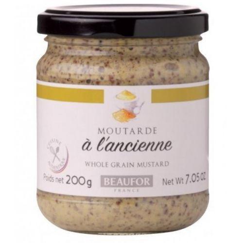 Французская горчица по старинному рецепту, 200 гр.