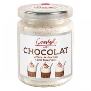 Шоколадный крем белый  Лате Макиато , 250 гр.