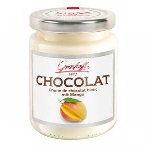 Шоколадный крем белый с манго, 250 гр.