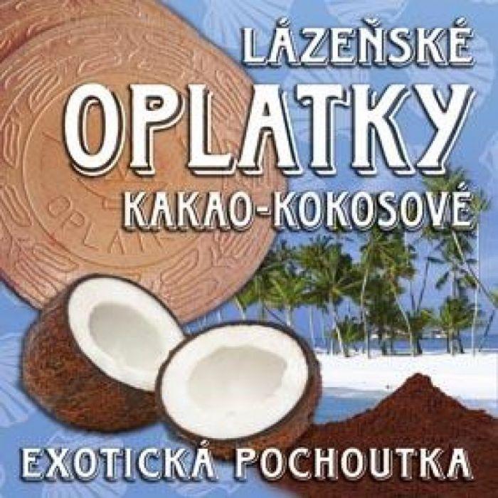 Вафли (оплатки) с кокосовой начинкой, 175 гр.