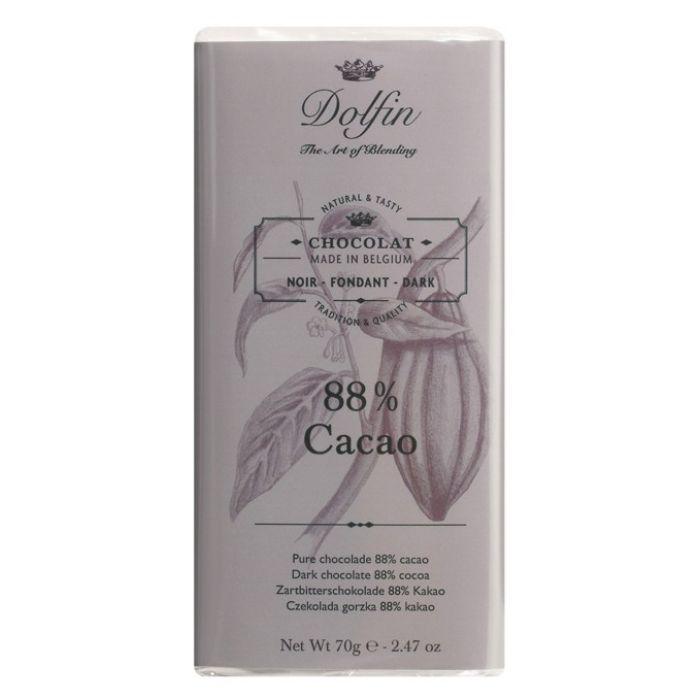 Тёмный шоколад 88%, 70 гр.