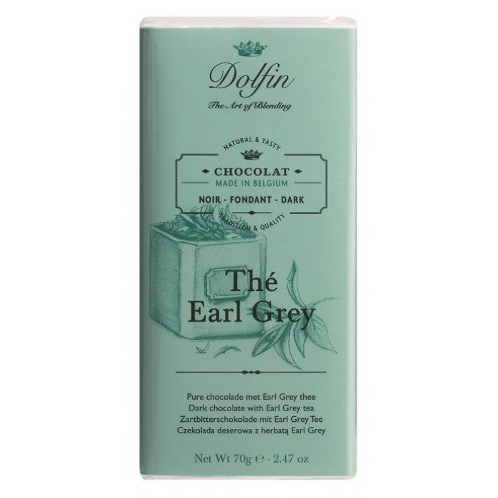 Тёмный шоколад с чаем Earl Grey, 70 гр.