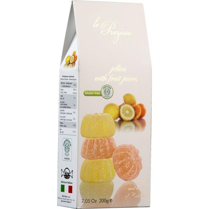 Мармелад с соком апельсина и лимона, 200 гр.
