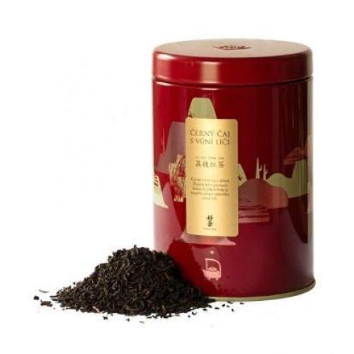 Чёрный час со вкусом и ароматом личи, в подарочной упаковке, 75 гр.